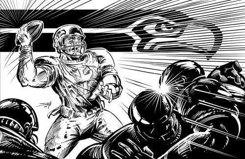 15 Best Images About Go Seahawks Coloring Pages On