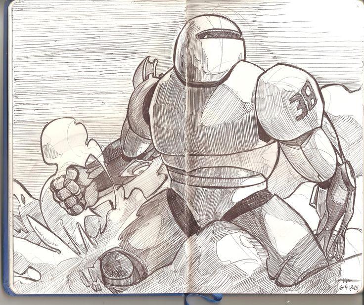 Robot armor design. Speedart design.