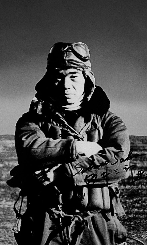 As de la Aviación japonesa: Saburo Sakai,  al cual se le adjudican 64 aviones derribados.