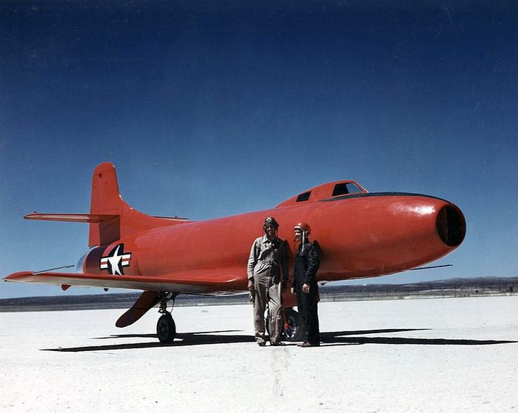 File:Douglas D-558-I with pilots Carl and Cladwell 1947.jpg