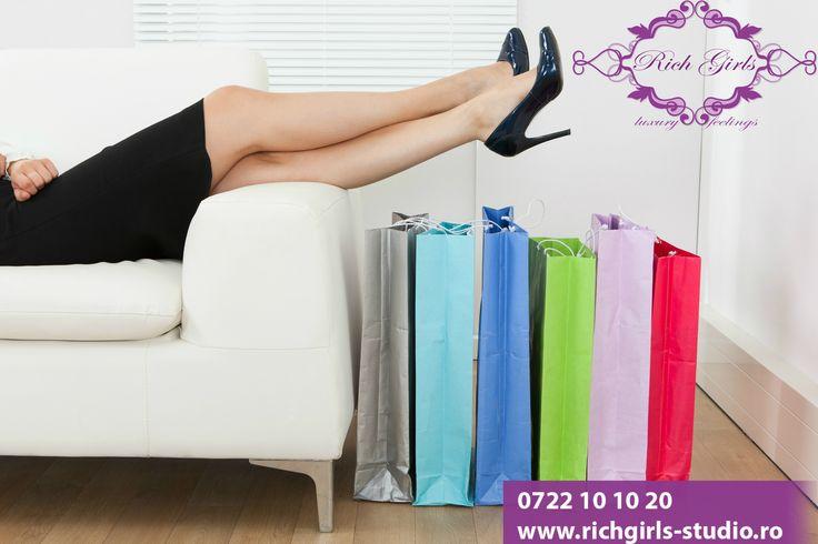 Care este cea mai relaxanta activitate din viata unei femei? Este foarte simplu, cumparaturile! Vino in echipa Rich Girls si iti vei permite ca shopping-ul sa fie o activitate zilnica pentru tine!