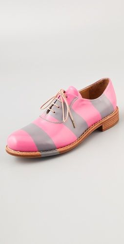 $480 striped shoes!: Smith Stripes, Fashion Shoes, 480 Stripes, Oxfords Shoes, The Offices, Old Shoes, Girls Shoes, Stripes Oxfords, Stripes Shoes