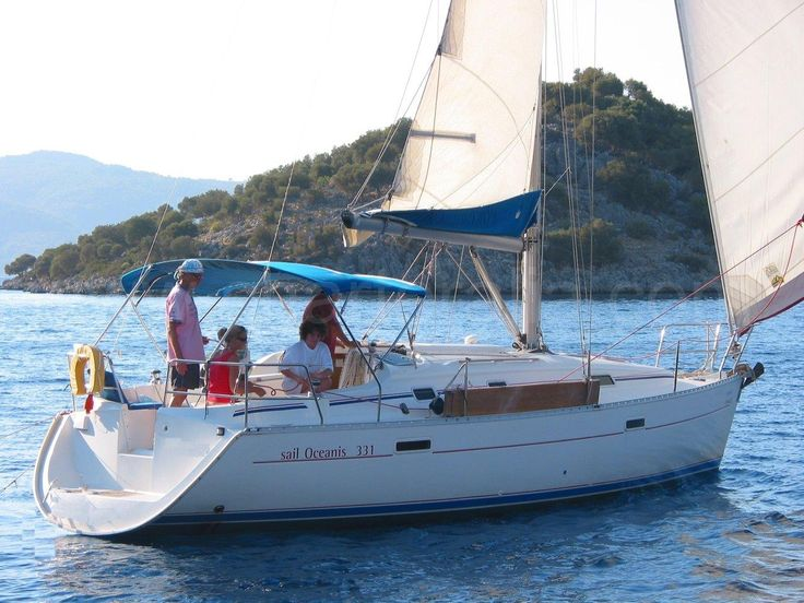 alquiler velero Formentera Ibiza con o sin patron Oceanis 331 Alquiler barcos Ibiza alquiler veleros ibiza Formentera catamaran