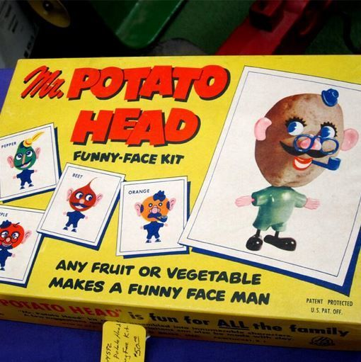 Mr Potato Head: You won't believe how this classic toy got its start