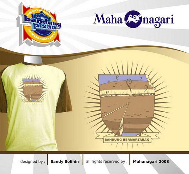 """""""Bandung Bermartabak"""" copyrights Mahanagari 2008"""