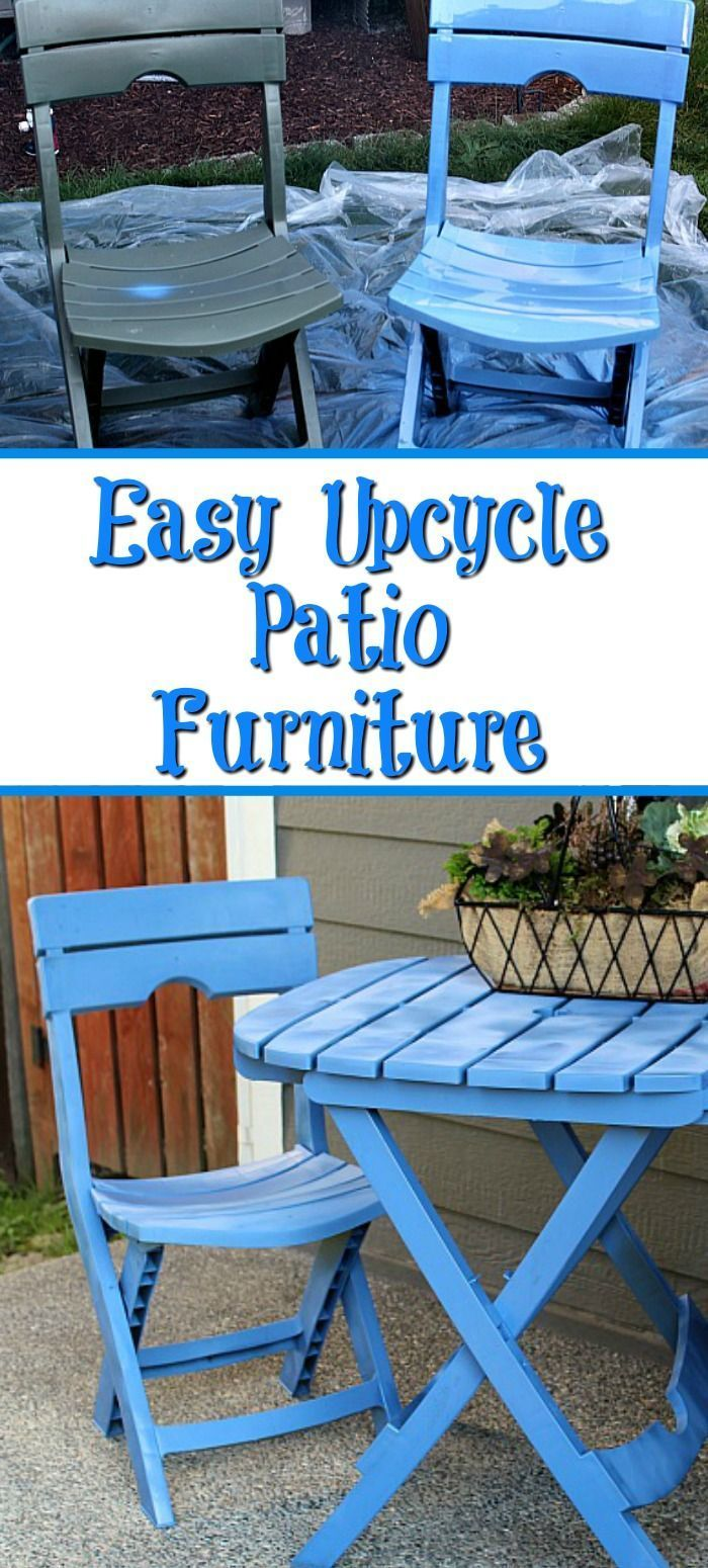 These Easy Tips To Upcycle Patio Furniture Are Sure To Make Your