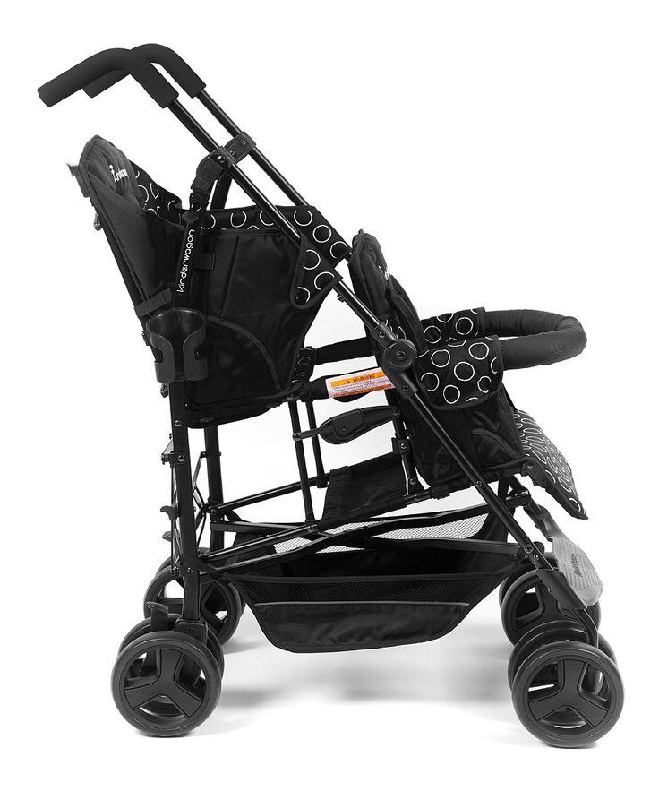 Black Kinderwagon Hop Stroller 300 Kinderwagon