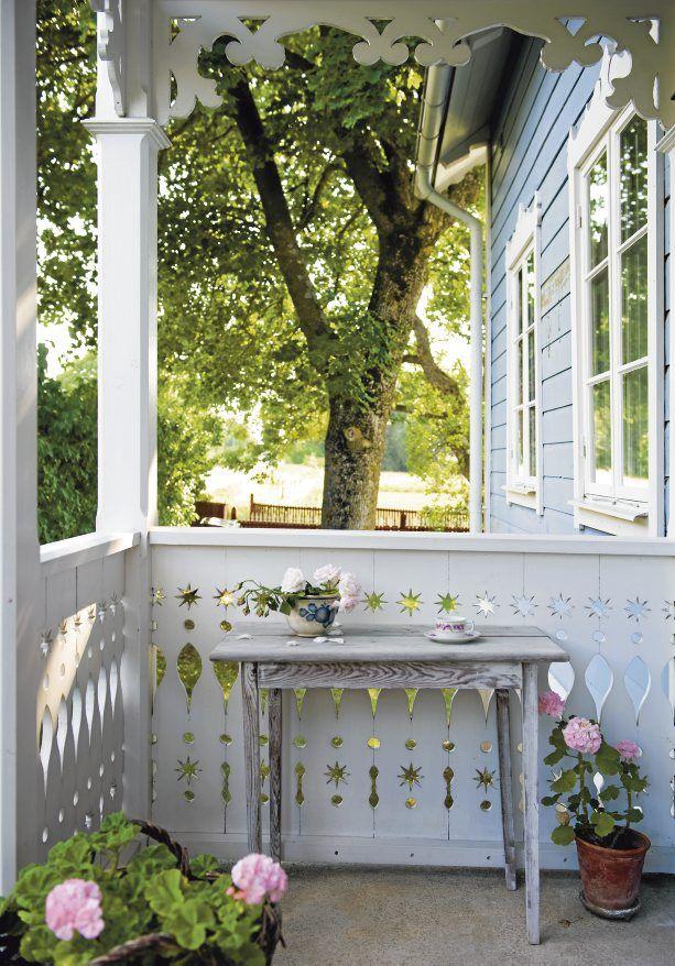 Här vill jag avnjuta mina sommar frukostar.