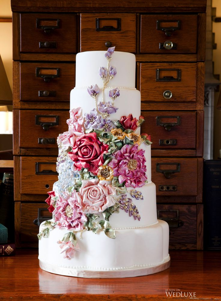 wedding cakes northern new jersey%0A bobbette and belle amazing porcleainlook vintage sugar flower cake