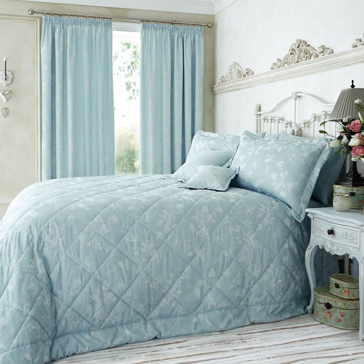 DOUBLE BED SIZE DUVET COVER SET VINTAGE SARAH FRILLED //FLORAL CREAM LUXURY