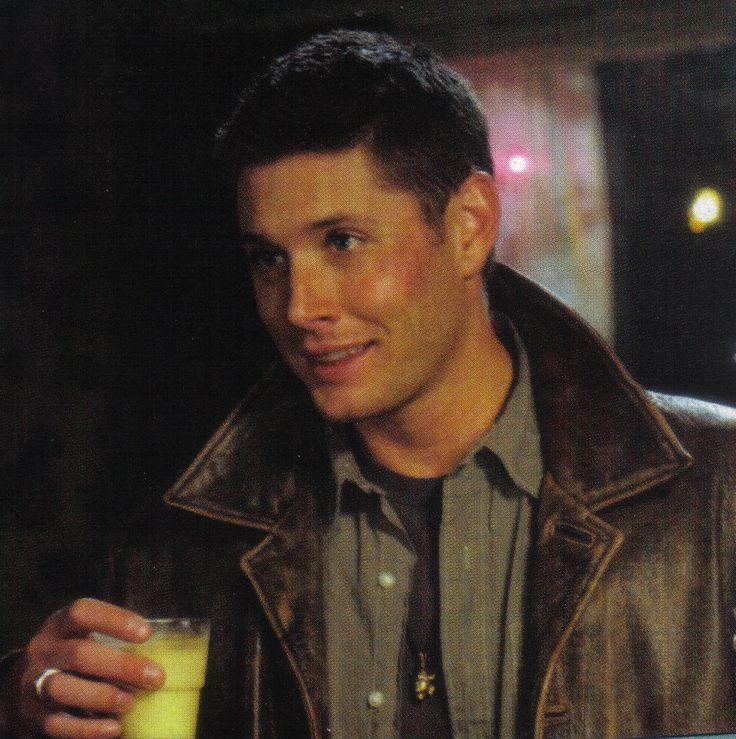 Jensen drinking OJ   J...
