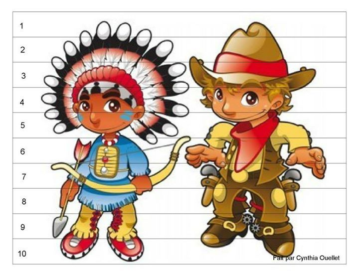 416 best images about thema cowboys  u0026 indianen on Pinterest   Bingo, Gabriel and Knutselen