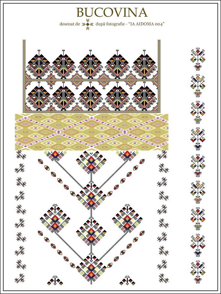 Semne Cusute: IA AIDOMA 004 = Bucovina, ROMANIA