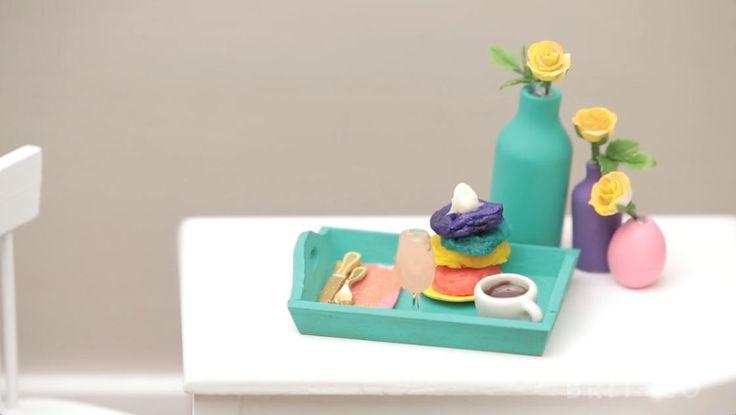 Make It Mini: Rainbow Pancakes