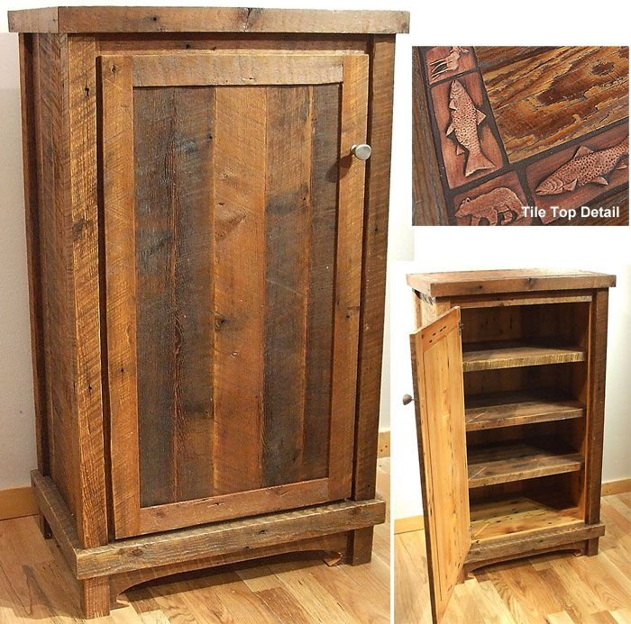 High Quality Repurposed Top Of Hutch | Misty Mountain Furniture Reclaimed Wood Furniture  Cabinets Railings .