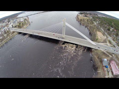 Rovaniemen tulva 2015 - YouTube