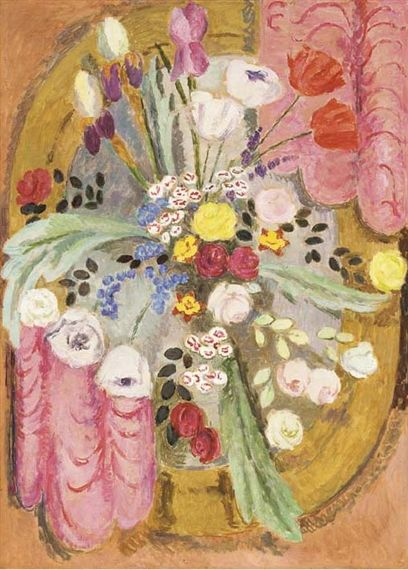 ✽ vanessa bell - design for needlework