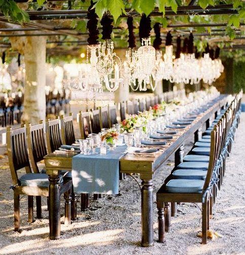 jose villaWedding Tables, Outdoor Wedding, Ideas, Wedding Receptions, Tables Sets, Dinner Parties, Vineyard Wedding, Long Tables, Outdoor Receptions