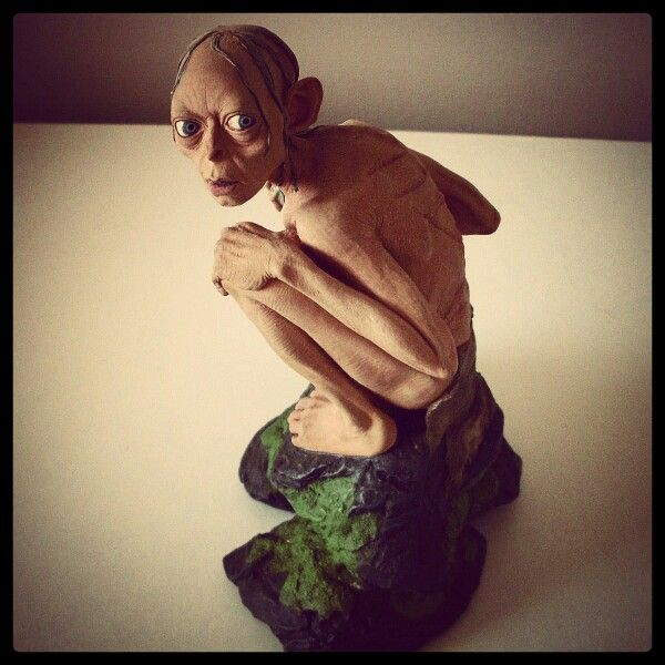 Weta Gollum Statue