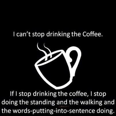 So feel like this today.  Off to make a pot.  My chai tea I made this morning is not cutting it.