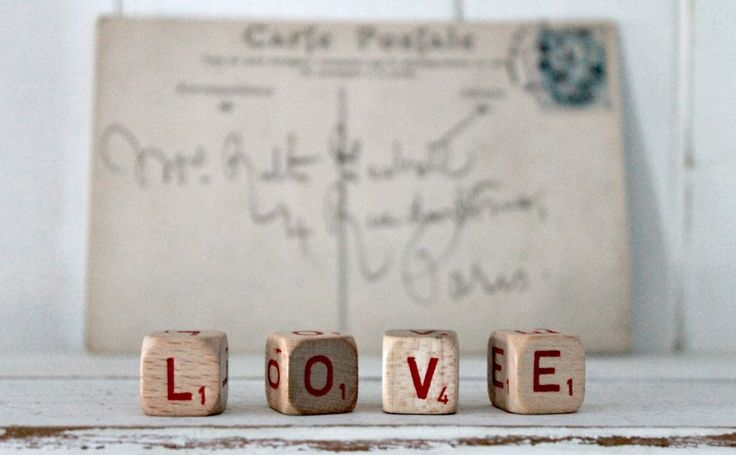 vintage letter cube word LOVE by hilltopcottage on Etsy https://www.etsy.com/listing/213279146/vintage-letter-cube-word-love