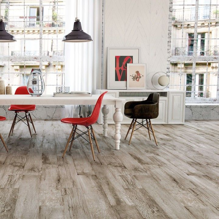 With its high shade variation the life porcelain wood effect flooring in grey or taupe offer a wonderful shabby chic design. These matt textured R10 tiles have some anti slip qualities making them great for family homes. The PEI4 rating means they are a durable alternative to real wood floors and they can also be used in commercial environments.