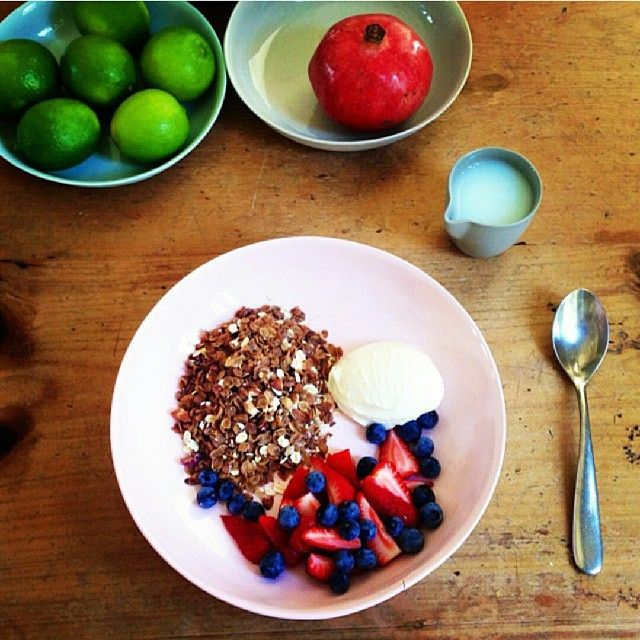 It's Monday! And what's for brekkie? Heart 1st cereal with cranberries, nuts and cinnamon! Kick start your day with the supergrain #Barleymax RG from @everydaycurator #highfibre #breakfast #instafood #inspiration #cleaneating #earlymorning #healthylifestyle