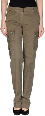 ICE B ICEBERG Casual pants - Shop for women's Pants - Military green Pants