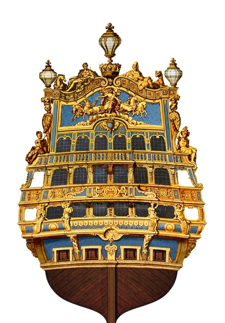 "French First Rate Ship of the Line ""Le Soleil Royal"" ~1670"