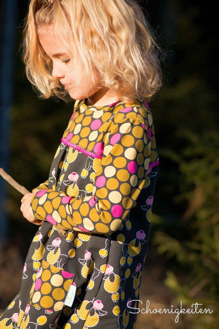 22 besten Schnittmuster LONDON || A-Linien Kleid nähen Bilder auf ...
