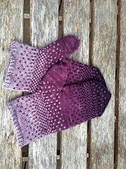 Ravelry: Purple Rain Mittens pattern by Dawn Hankse