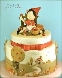 Risultati immagini per little red riding hood cake