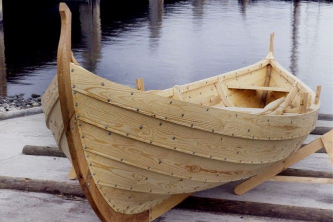 A Viking Ship that you can purchase. The Viking Ship Museum will construct a boat for you for €33,000 – 53,000.