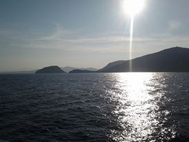 Arrivando in Sardegna (Renata)