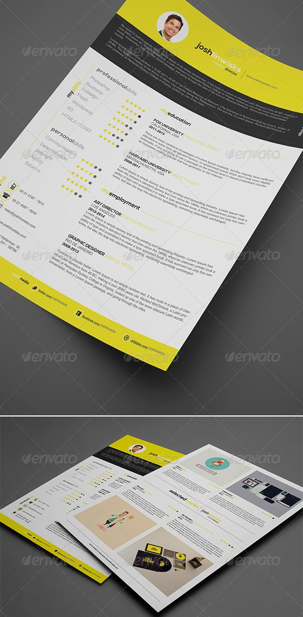 17 best images about cv  resume templates on pinterest