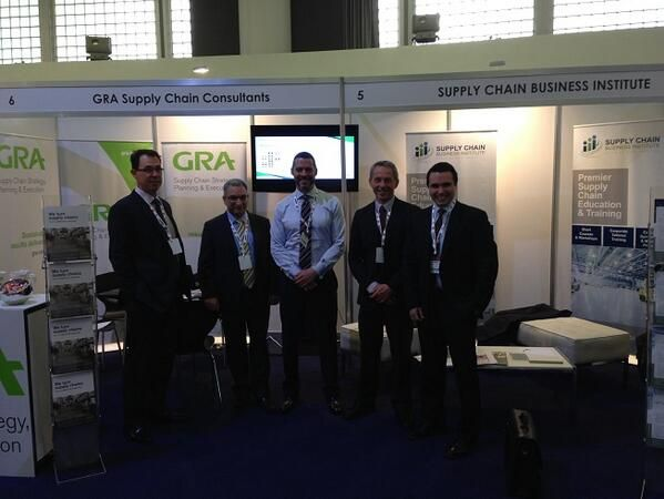 SMART 2013 Supply Chain Conference  GRA Supply Chain Consultants (left to right) Bill Thompson; Tony Sbizzirri; Carter McNabb; Steve Bray with Catalyst Investment's Portfolio Director - Andrew Coventry    GRA's Carter McNabb and Catalyst's Andrew Coventry will be presenting to the SMART audience this afternoon on the topic:  'A Private Equity Perspective: Why industry must focus on the supply chain during difficult economic times'