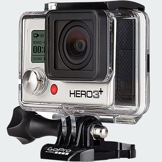 GoPro Hero 3+ Silver Edition - Verizon Wireless