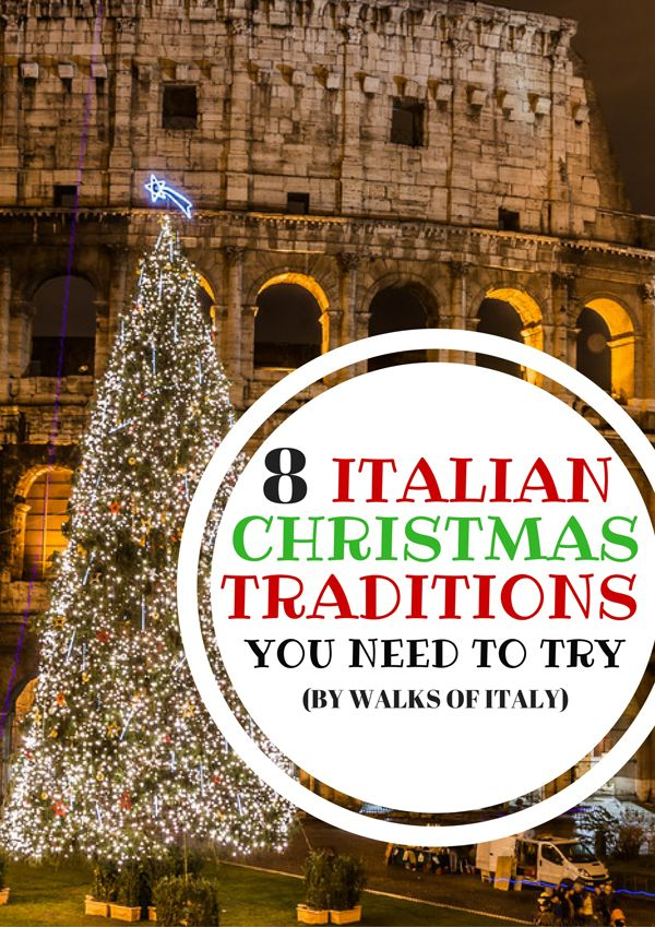 Italy has some beautiful Christmas traditions like putting a Christmas tree front of the Colosseum. Find out the rest on the Walks of Italy Blog!