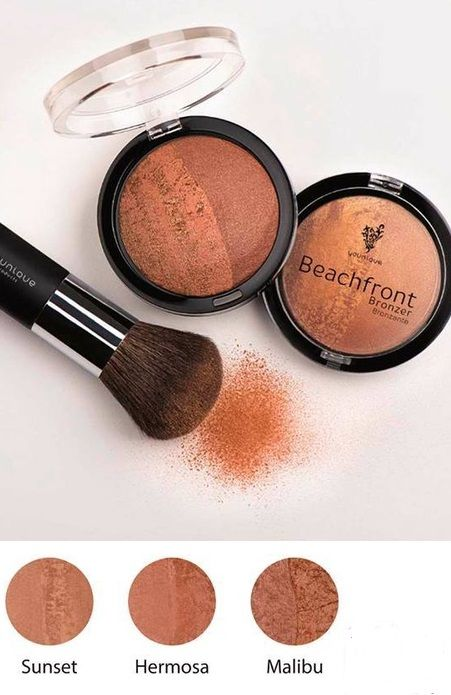 Beachfront Bronzer gives you that perfect, sun-kissed glow without the harmful rays of the sun.
