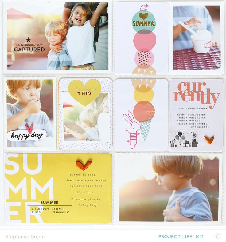 Project Life: Summer Fun by stephaniebryan at @studio_calico