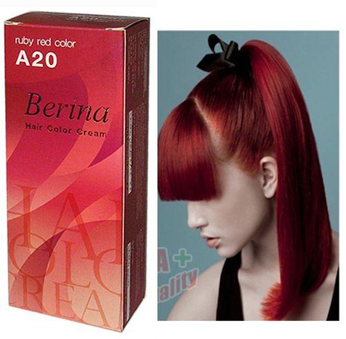 Berina Hair Colour Permanent Cream Hair Dye Color Cream Various Colors | eBay
