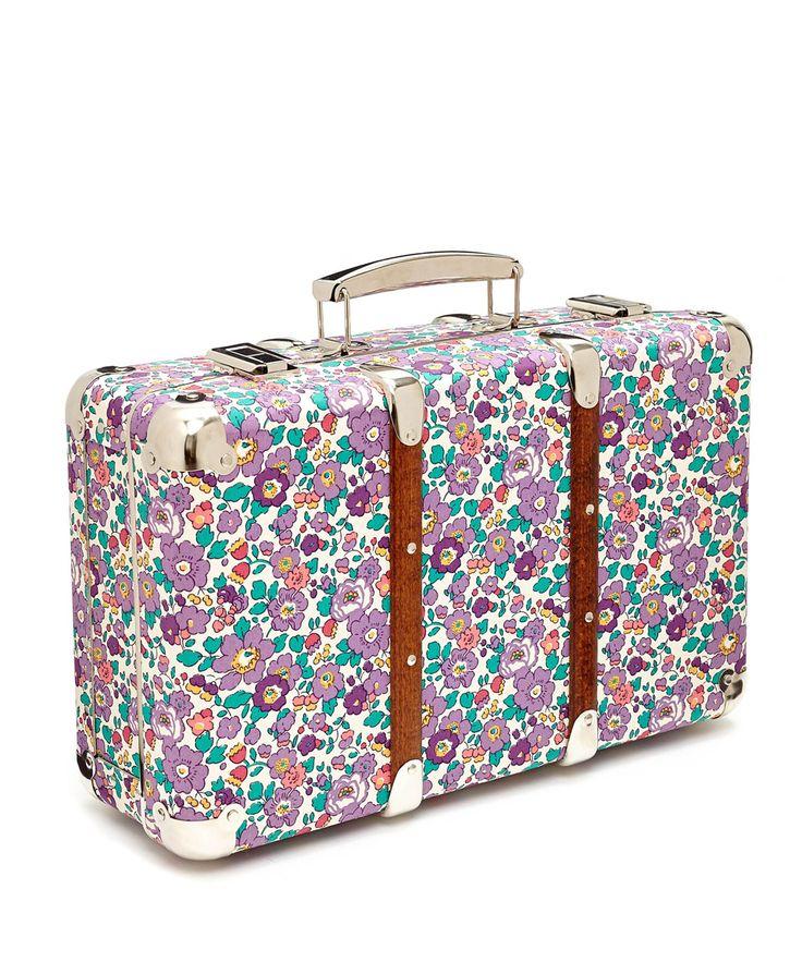 Flowers Of Liberty Betsy Liberty Print Mini Suitcase