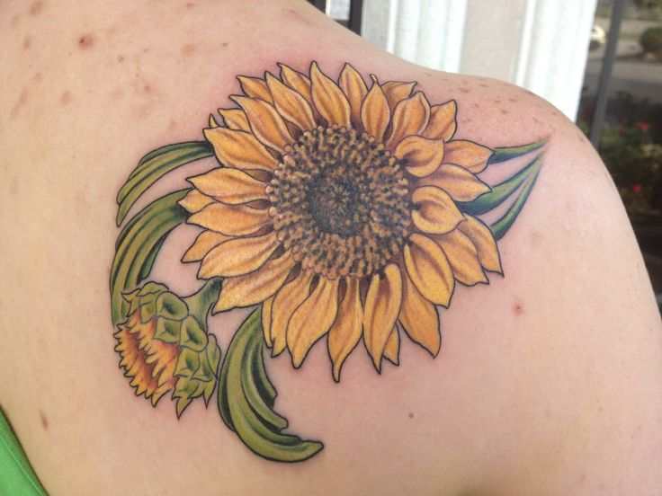 sunflower tattoo ideas - HD 3264×2448