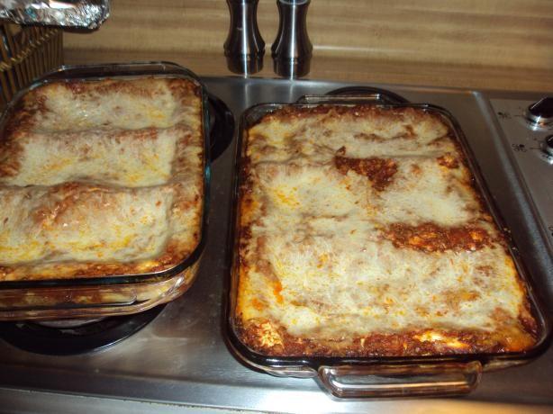 Buddy Valastro's Grandma Maddalena's Sausage Lasagna