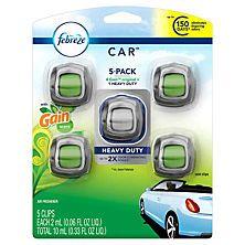 Febreze Car Air Freshener, Choose Your Scent (5 ct.)