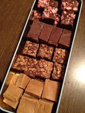 I have made this many times its an wonderful easy fudge to make and no a candy thermometer needed, this is rich so a small piece goes a long way, this freezes well:)
