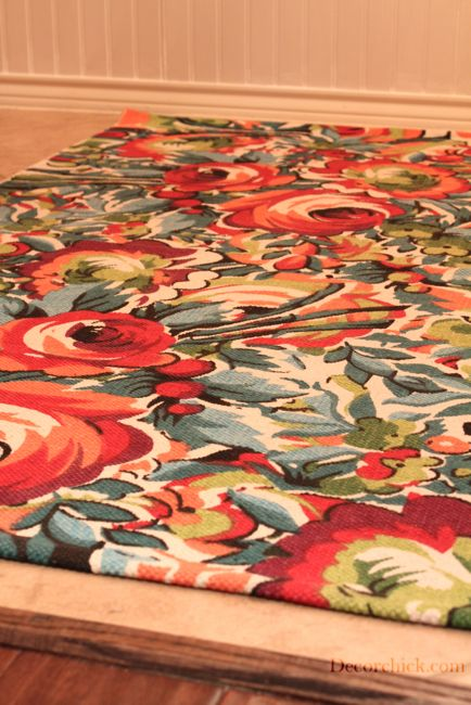 Urban Outfitters Rug - this would look great in my laundry room!