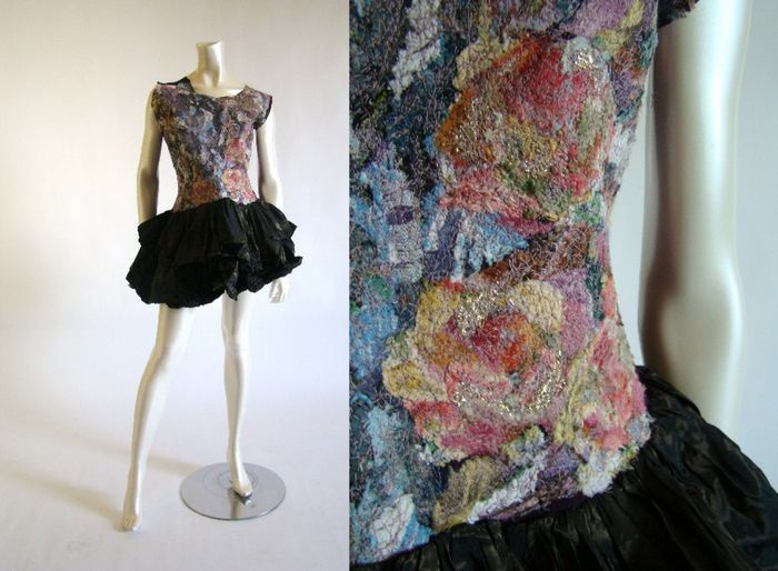Anita Quansah, a British Fashion designer who uses vintage ...
