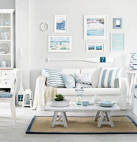 Tremendous 17 Best Ideas About Nautical Living Rooms On Pinterest Beach Largest Home Design Picture Inspirations Pitcheantrous