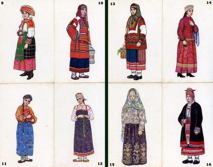 Калужский народный костюм